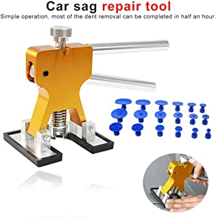 Akozon 24 St/ücke Auto Dellen Repair Puller Kits,Auto Puller Body Dent Removal Ziehen Paintless Reparatur Werkzeuge PDR Tool Kit Glue Tabs Puller Tabs Removal Kit