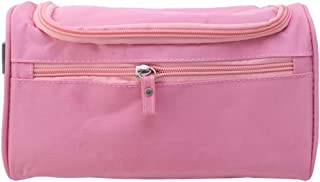 TOPBATHY 1Pc Wash Bag Waterproof Large Capacity Cosmetic Bag Outdoor Travel Storage Pouch Organizer (Pink)