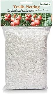 Mr.Garden Plant Netting,Tomato Trellis Netting, Vegetables,Flowers, Fruits,Cucumber Climbing Garden Netting 5ft x 12ft (2),White