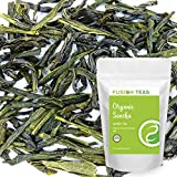 Organic Sencha (Steamed) Green Tea - Pure Gourmet Loose Leaf Tea - Directly From Japan - 4 Oz. Pouch