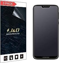 J&D Compatible para Motorola Moto G7 Power/Moto G7 Supra Protector de Pantalla, 3 Paquetes [Anti reflejante] [NO Cobertura Completa] Mate Protector de Pantalla - [No para Moto G7/G7 Plus/G7 Play]