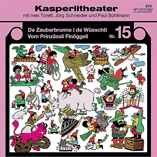 Kasperlitheater Nr. 15 Titelbild