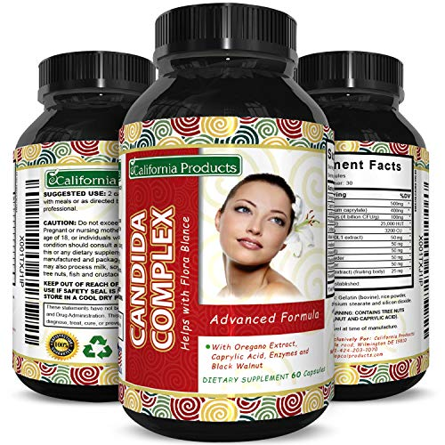 Bio Sense Candida Cleanse Supplement 60 Capsules