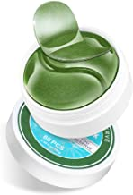 Collagen Under Eye Patches,Green Tea Firming Gel Eye Treatment Mask Under Eye Mask For Puffy Eyes Eye Moisturizing, Wrinkles, Fine Lines, Under Eye Bags (30Pairs) (Green)