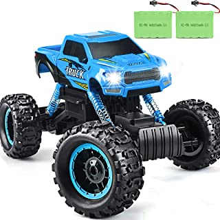 Double E RC Truck 2019 Updated 1/12 Scale Remote Control Car for All Adults & Kids Off Road RC Trucks Blue