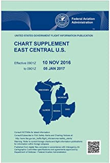 FAA Chart Supplement East Central U.S. (Always Current Edition)
