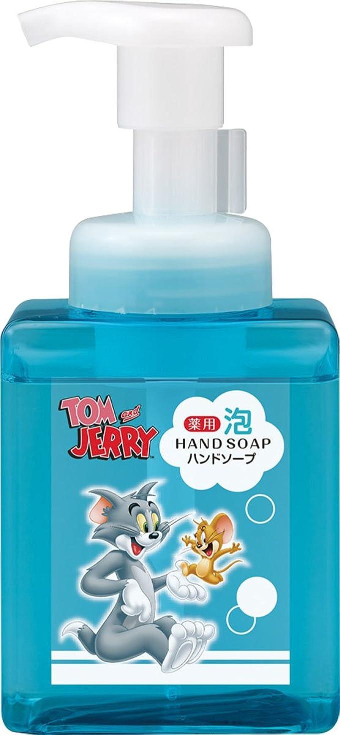 大きさオフ恐ろしい熊野油脂 トムとジェリー 薬用 泡ハンドソープ 250ml
