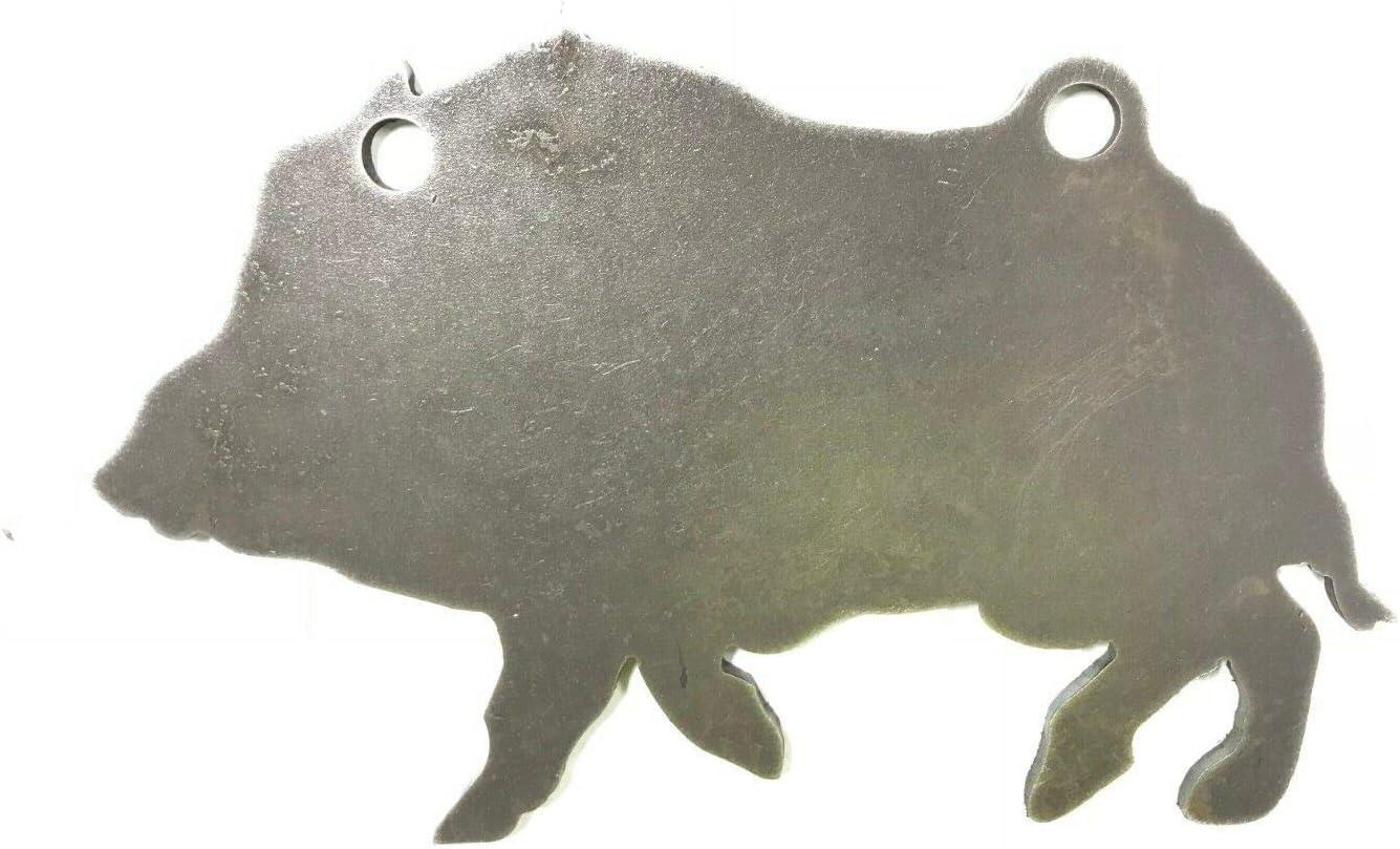 Make Daily bargain sale It Ring Targets Ar500 Tulsa Mall Hog Target Silhouette Steel Animal Go