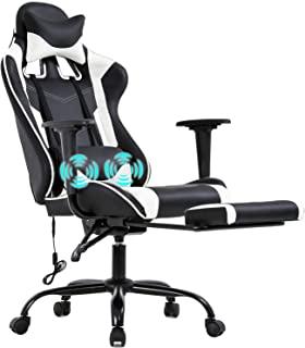 BestOffice PC Gaming Racing Office Ergonomic Desk Massage PU