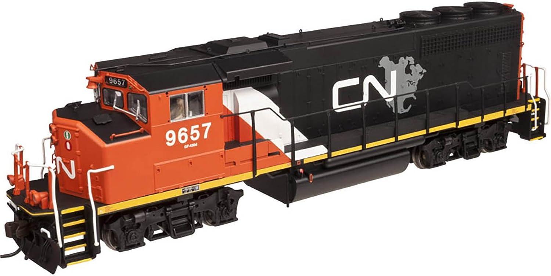 Spur H0 - Atlas Diesellok GMD GP40-2W Canadian National B00N4W22CA Spielzeugwelt, fröhlicher Ozean  | Verschiedene Waren