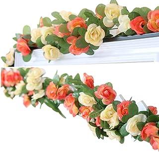 LumenTY 2 Paquetes 2.5 m Artificial Flor Vid Flores