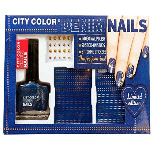 City Color Denim ongles – Édition limitée Lot