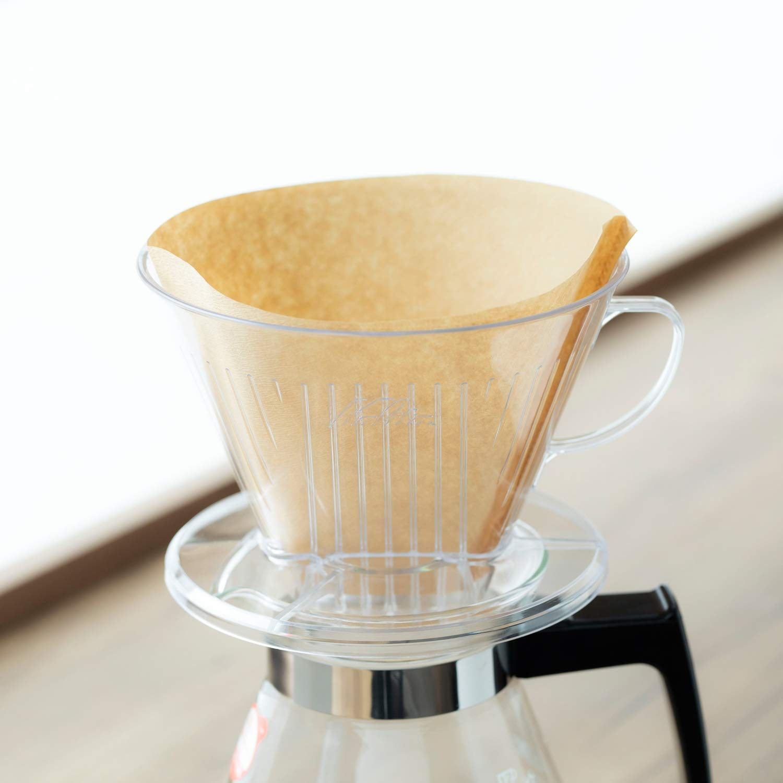 people for plastic coffee dripper wide brim type 103-DL # 06003 4-7 Kalita: