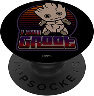 Marvel Groot Guardians of the Galaxy Kawaii PopSockets Support et Grip pour Smartphones et Tablettes
