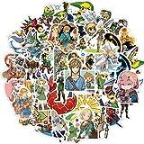 The Legend of Zelda Game Stickers,50Pcs Vinyl Waterproof Stickers for Laptop,Bumper,Skateboard,Water Bottles,Computer,Phone, Cool Stuff for Teens, Kids, Adults