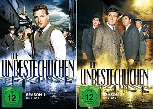 Die Unbestechlichen - Season 1+2 im Set - Deutsche Originalware [16 DVDs]