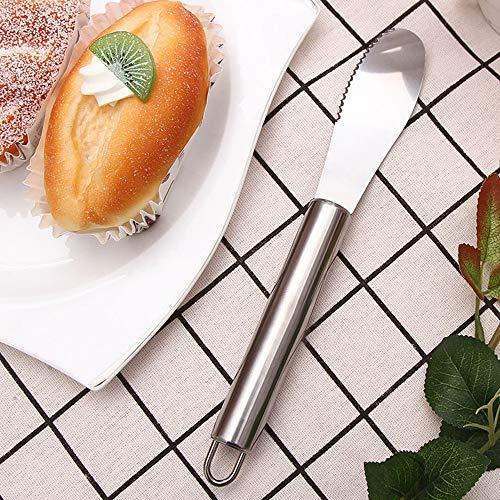 Guoqy botermes van roestvrij staal, schraper voor botercrème en jam, kookgerei