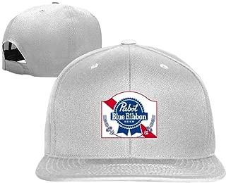 NVT NA Pabst Blue Ri-bbon Beer Unisex Fashion Snapback Adjustable Hats Baseball Caps