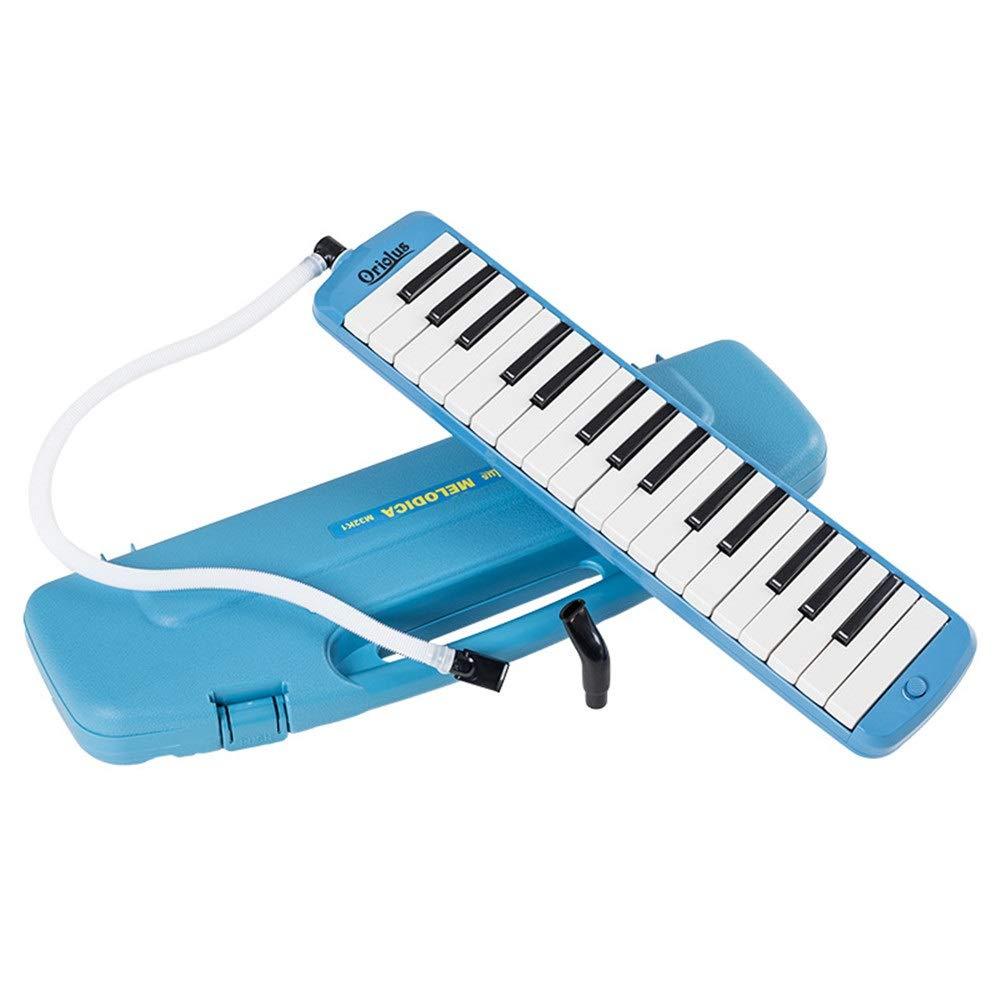 Instrumento Musical Melodica 32 teclas Teclado estilo piano Melódica con estuche portátil para niños Instrumentos musicales Regalo Juguetes para los amantes de la música Principiantes Boquillas Juegos: Amazon.es: Hogar