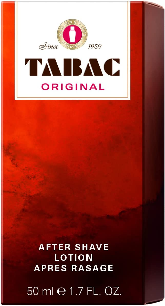 TABAC ORIGINAL by Maurer Wirtz OZ Men Inventory cleanup Ranking TOP5 selling sale AFTERSHAVE 1.7 for