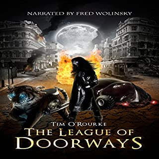 The League of Doorways (A Book of Vampires, Werewolves & Black Magic) (The Doorways Saga 2) audiobook cover art