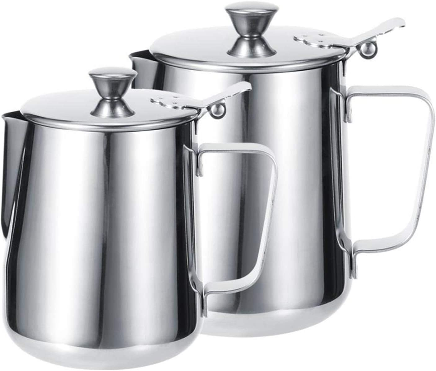 CHENZHEN Stainless Steel Thicken Milk Frothing Cup Jug Coffee Pi