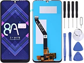 HEGUANGWEI Replacement Parts LCD Screen and Digitizer Full Assembly for Huawei Honor 8A Pro (Black) Cell Phone LCD Screen Accessories (Color : Black, Size : One Size)