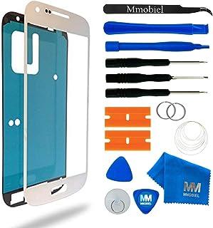comprar comparacion MMOBIEL Kit de Reemplazo de Pantalla Táctil Compatible con Samsung Galaxy S4 i9500 i9505 Series (Blanco) Incl Kit de Herra...