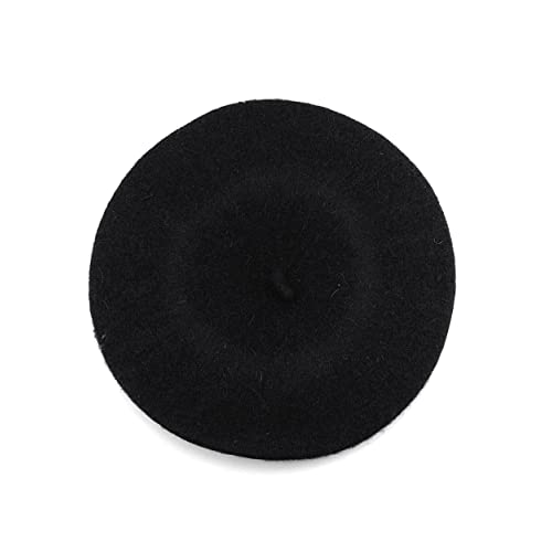 a92104b0fc5d5 NYFASHION101 French Style Lightweight Casual Classic Solid Color Wool Beret