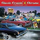 Classic Cruisin  & Chrome Cars 2022 Wall Calendar