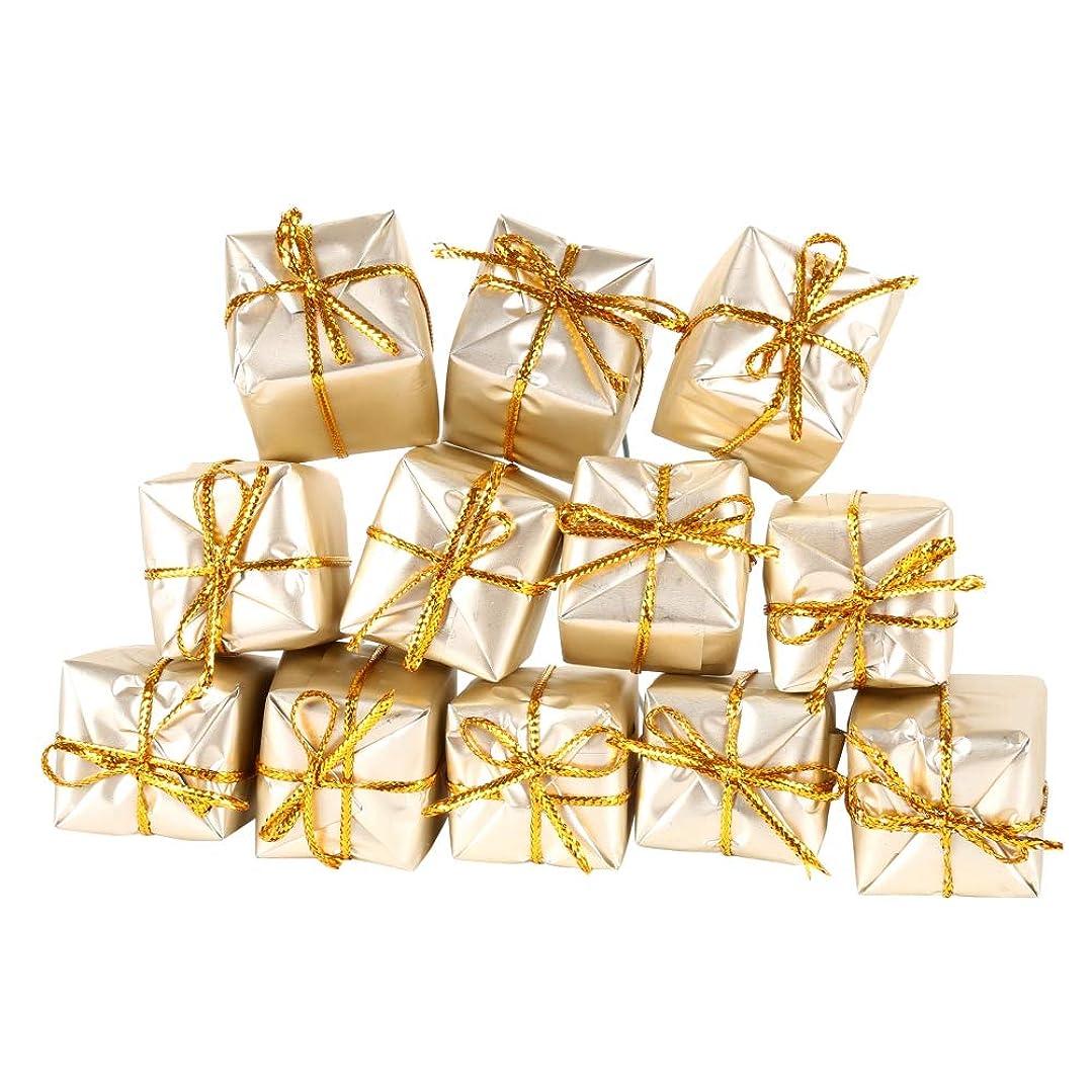 ペチュランス帰するにおいクリスマス飾り ギフトボックス装飾 12個入り クリスマスツリー オーナメント デコレーション 吊り装飾用 インテリア 雰囲気満載 プレゼント