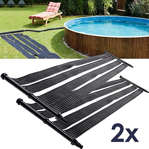 2x Nemaxx SH3000 Solarheater 3 m - calefacción solar de la piscina, calefacción solar, estera de calefacción de la piscina, panel solar de la piscina, agua caliente, calefacción para la pisc