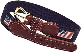American Flag Belt Blue