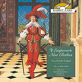 The Emperor's New Clothes audiobook cover art