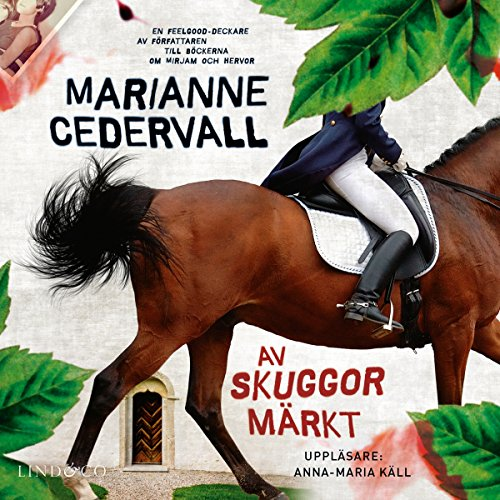 Av skuggor märkt audiobook cover art