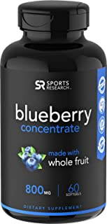 organic blueberry supplement
