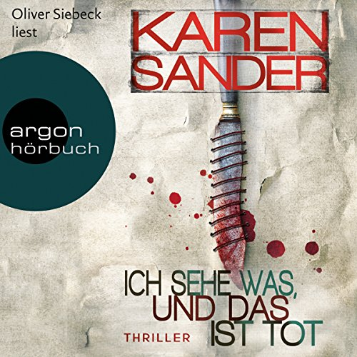 Ich sehe was, und das ist tot     Georg Stadler & Liz Montario 3              By:                                                                                                                                 Karen Sander                               Narrated by:                                                                                                                                 Oliver Siebeck                      Length: 10 hrs and 24 mins     1 rating     Overall 4.0