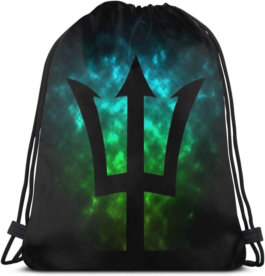 Trident Poseidon Percy Jackson Limited time sale Sports Drawstring Fitness Max 56% OFF Bag