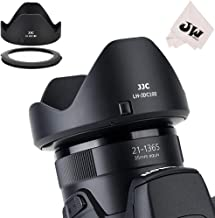 JJC Reversible Lens Hood Shade Protector & 67mm Filter Adapter Ring for Canon Powershot SX70 HS, G3 X, SX60 HS, SX50 SX40 HS, SX30 is, SX20 is, SX540 SX530 SX520 HS Replaces Canon LH-DC100 & FA-DC67B