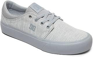 DC Women's Trase Tx Se J Shoe LGY Light Grey Sneakers-5 UK/India (38 EU) (3613373291387)