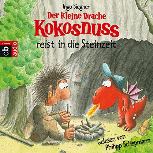 Der kleine Drache Kokosnuss reist in die Steinzeit cover art
