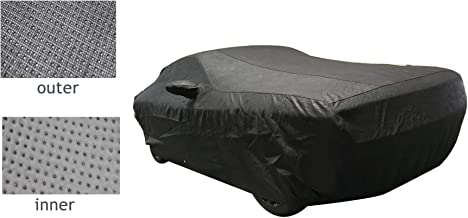 T//A Hellcat JeCar Car Cover for Dodge Challenger Weatherproof Protect from Rain Snow Hail Sunshine Car Cover Custom Fit for Dodge Challenger 2008-2020 R//T SRT SXT