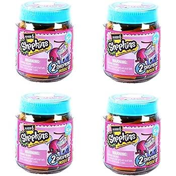 Shopkins Chef Club Season 6 Jars - Set of 4   Shopkin.Toys - Image 1