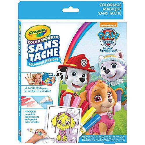 Crayola - Kit Color Wonder Pat' Patrouille - Coloriage magique - 256463.006