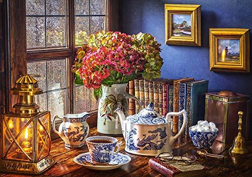 Tea Time Puzzle   Rompecabezas (Puzzle rompecabezas, Arte, Niños y adultos, Niño/niña, 9 año(s), 470 mm) , color/modelo surtido