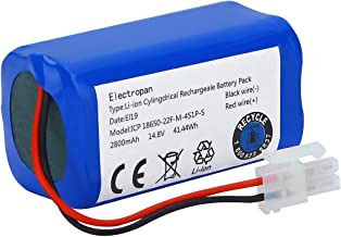 Electropan 14.8V 2800mAH Replacement Battery for ILIFE A4 A4S A6 V7 Robot Vacuum Cleaner