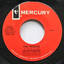 Julie Rogers 45 RPM The Wedding / Without Your Love