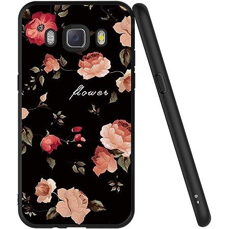 ZhuoFan Coque Samsung Galaxy J5 2016, Etui en Silicone Noir avec Motif 3D Fun Fantaisie Dessin Antichoc TPU Gel Housse de Protection Case Cover Coque ...