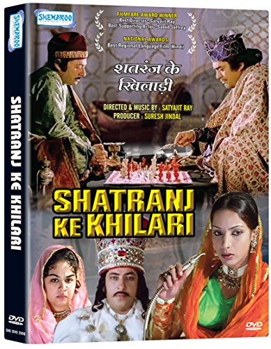 Shatranj Ke Khilari (New Single Dvd, Hindi Movie With English Subtitles)
