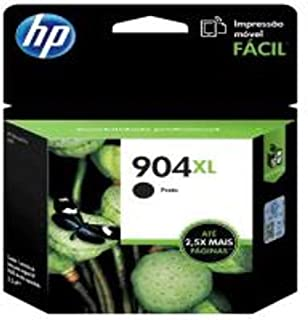 Cartucho de Tinta Officejet HP Suprimentos T6M16AB HP 904XL Preto 21,5ml